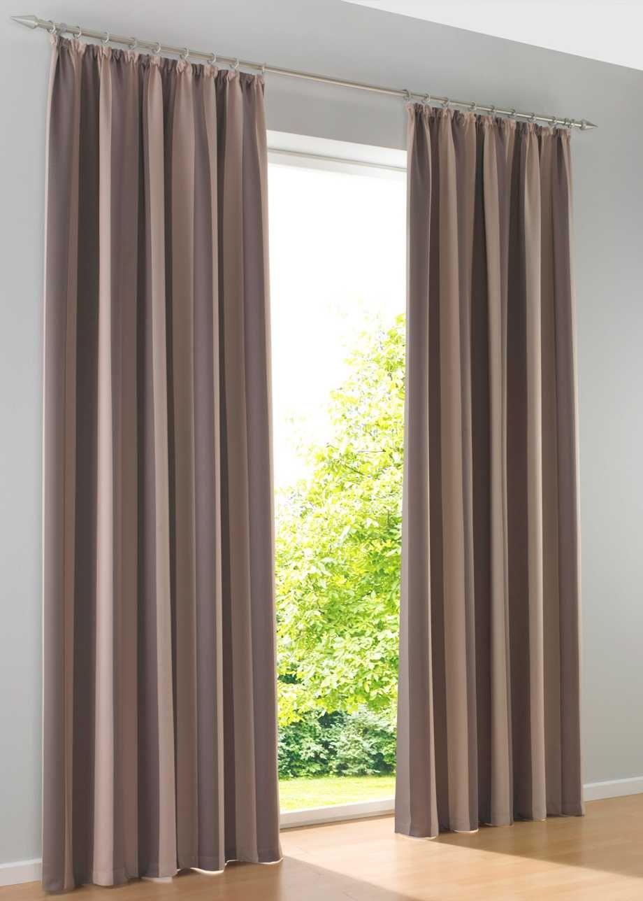verdunkelungsvorhang streifen 1er pack bpc living braun gardinen pinterest vorh nge. Black Bedroom Furniture Sets. Home Design Ideas
