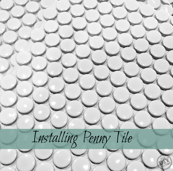 How To Install Penny Tile Diy Flooring Tiles