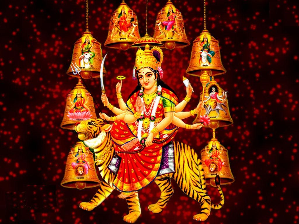 Wallpaper download mata rani - Durga Mata Computer Wallpaper Free Download