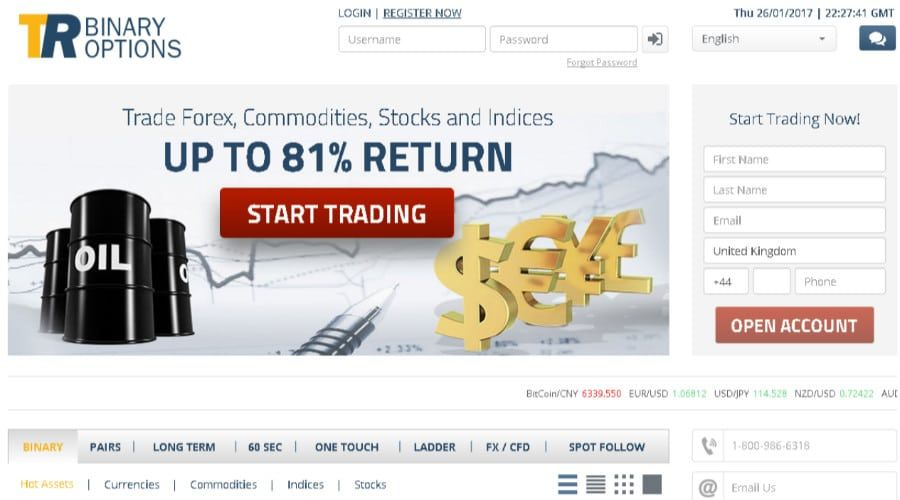 Trade rush binary options review how to bet on the down od bitecoin
