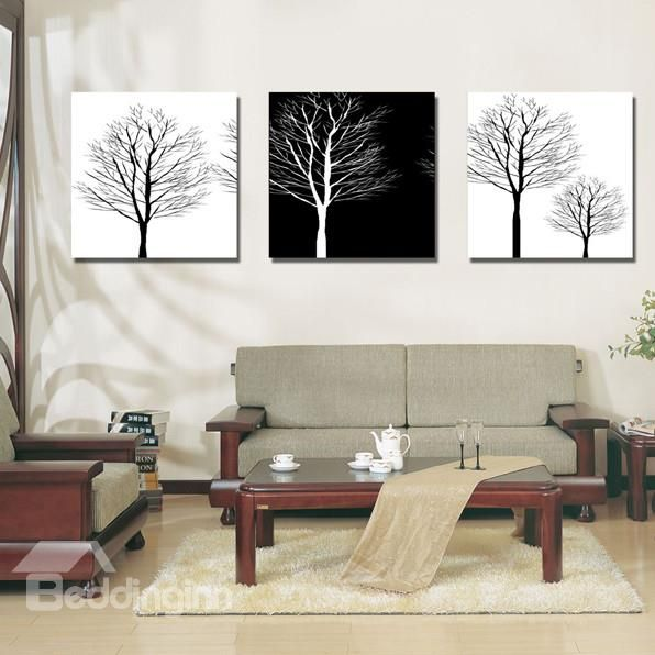 New Arrival Trees With No Leaves Canvas Wall Prints