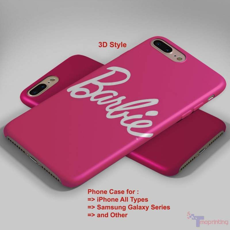 the best attitude 5245e 00677 Barbie Pink - Personalized iPhone 7 Case, iPhone 6/6S Plus, 5 5S SE ...