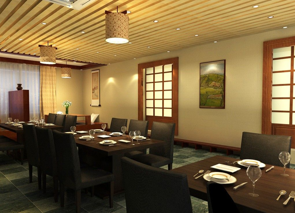 Japanese Restaurant Interior Design