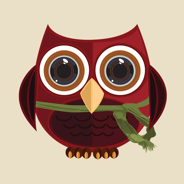 Check out this awesome 'The+Red+Owl' design on TeePublic! http://bit.ly/1onwIac