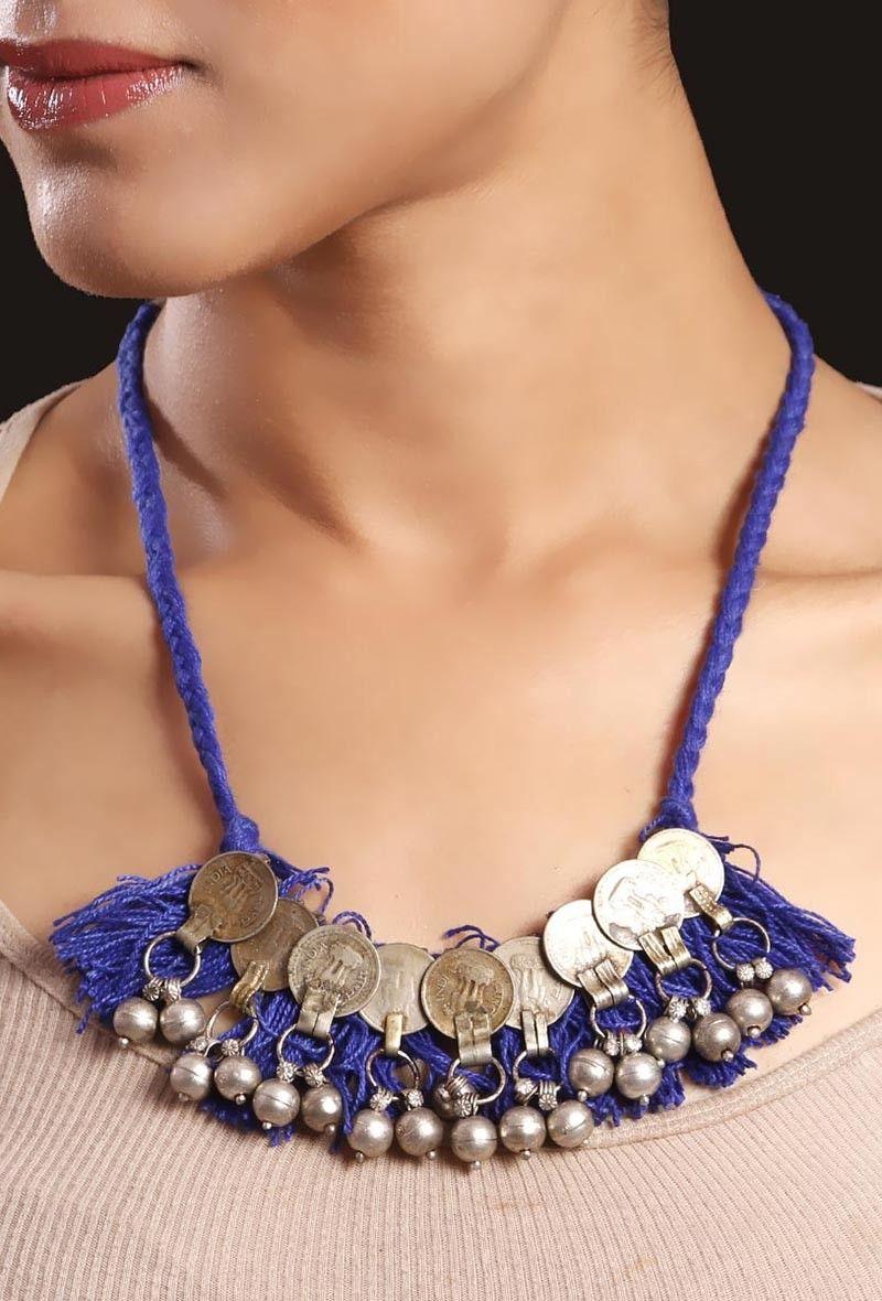 cbaea46edf631 Banjara tribal jewelry | Banjara tribal necklaces online India ...