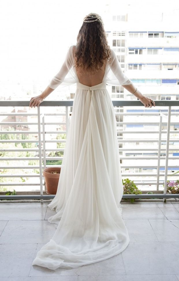 Soft Comfortable And Flowy Wedding Gown Who Woulnd T Want That