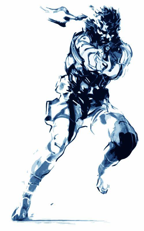 Solid Snake Snake Metal Gear Metal Gear Rising Metal