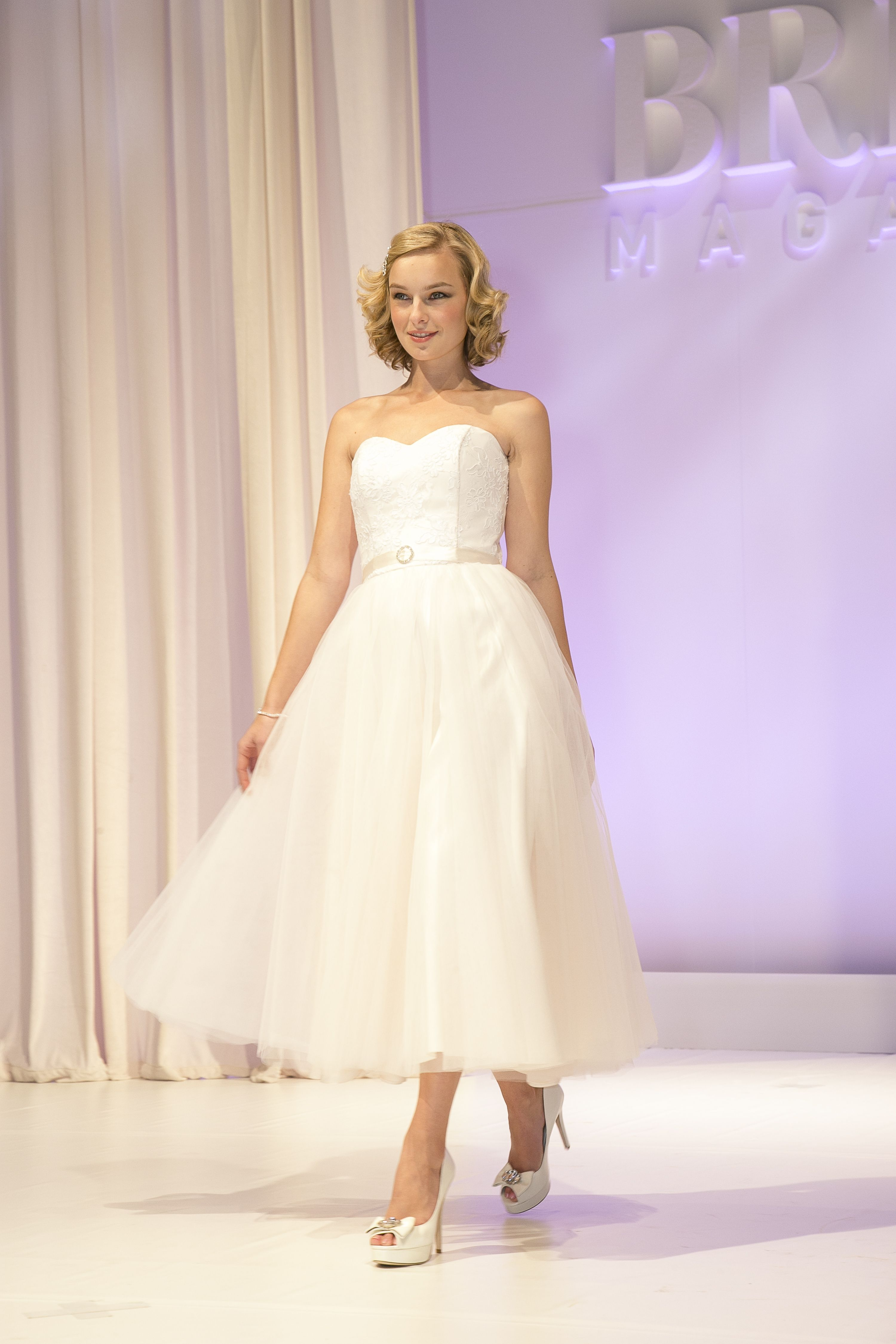 Cute short wedding dresses  Cute u short from Wendy Makin Cute shoes from shoesales