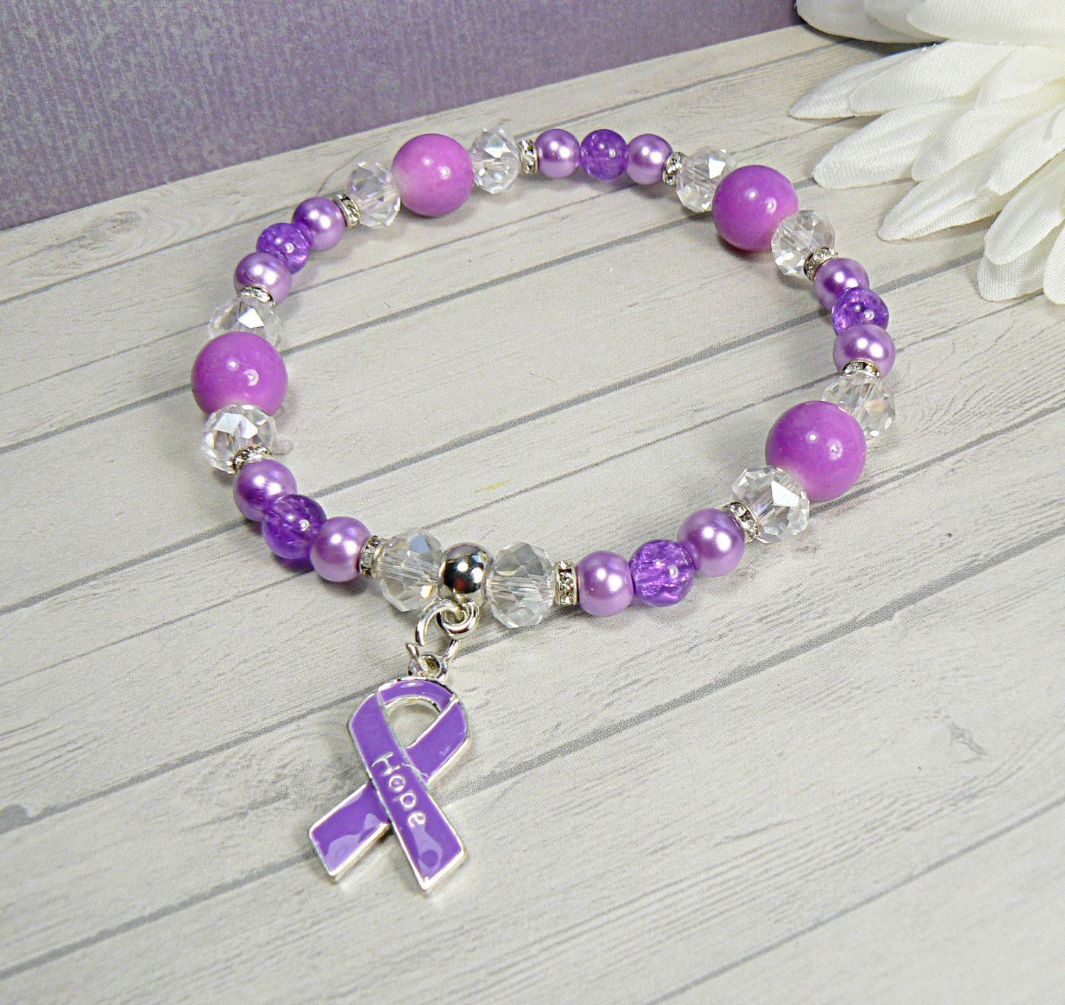 s awareness sympathy memorial fuck alzheimer purple pin bracelet ribbon