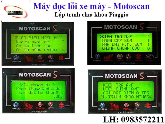 Thiết bị xác định lỗi hệ thống điện và điện tử của hầu hết các loại xe máy thế hệ mới sử dụng hệ thống phun xăng và đánh lửa điện tử tại Việt Nam