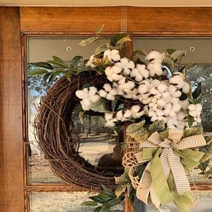 Large Fall wreath for Front Door with Pumpkins & Sunflowers, Farmhouse wreath, Autumn Front Door wre #doubledoorwreaths