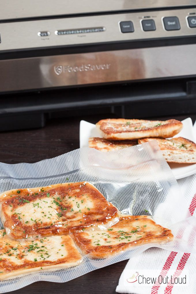 Garlic Herb Flatbread. It's crispy on the outside, tender on the inside, and is delish. All it takes is a few ingredients and 15 minutes...done and yum!