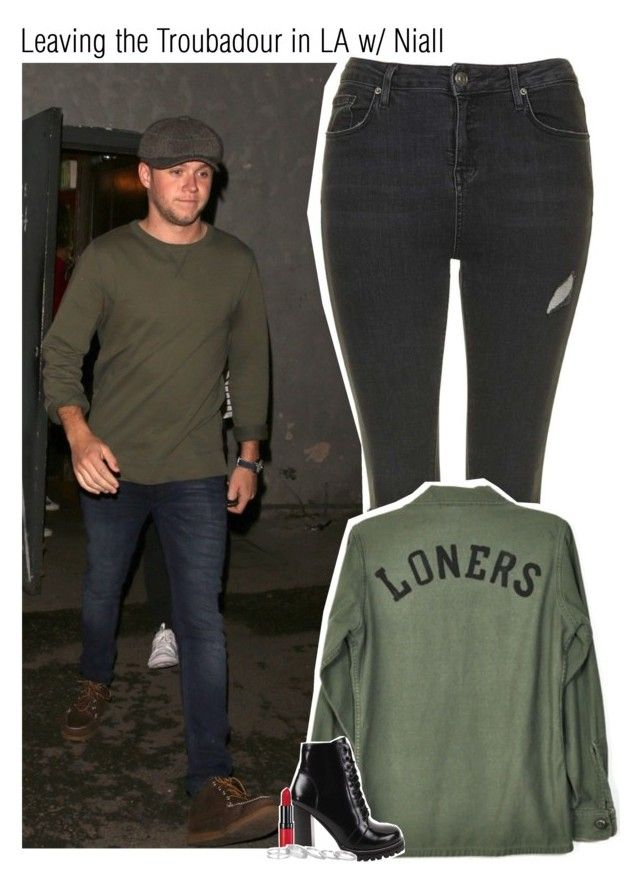 """""""Leaving the Troubadour in LA w/ Niall"""" by amberamelia-123 ❤ liked on Polyvore featuring Topshop, Obesity and Speed, Jeffrey Campbell, Rimmel and Kendra Scott"""