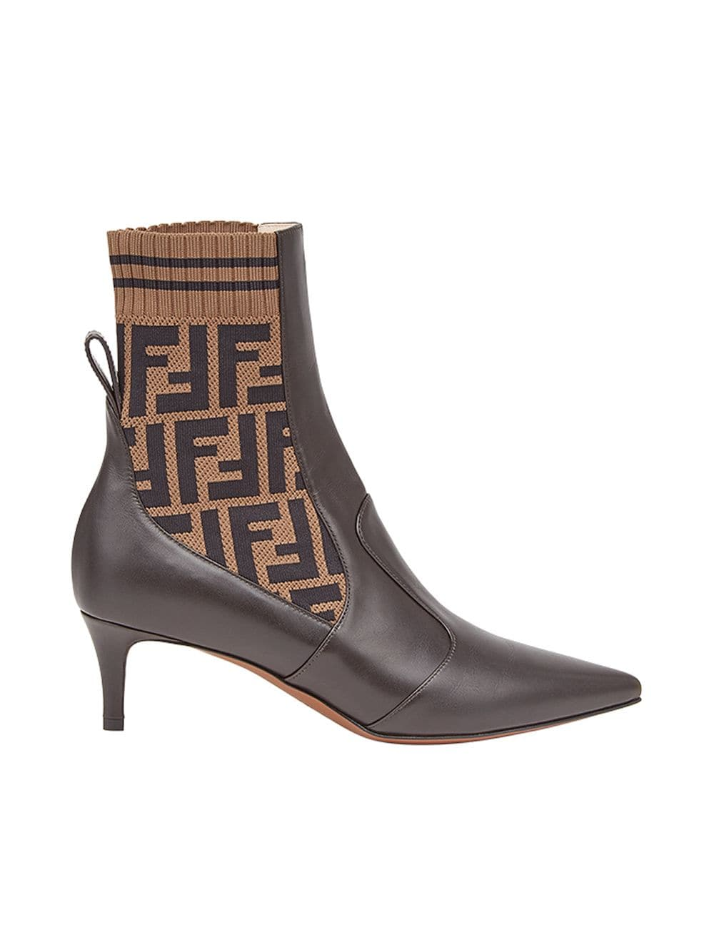 d9e63fcf Fendi FF motif ankle boots - Brown in 2019   Products   Boots, Brown ...