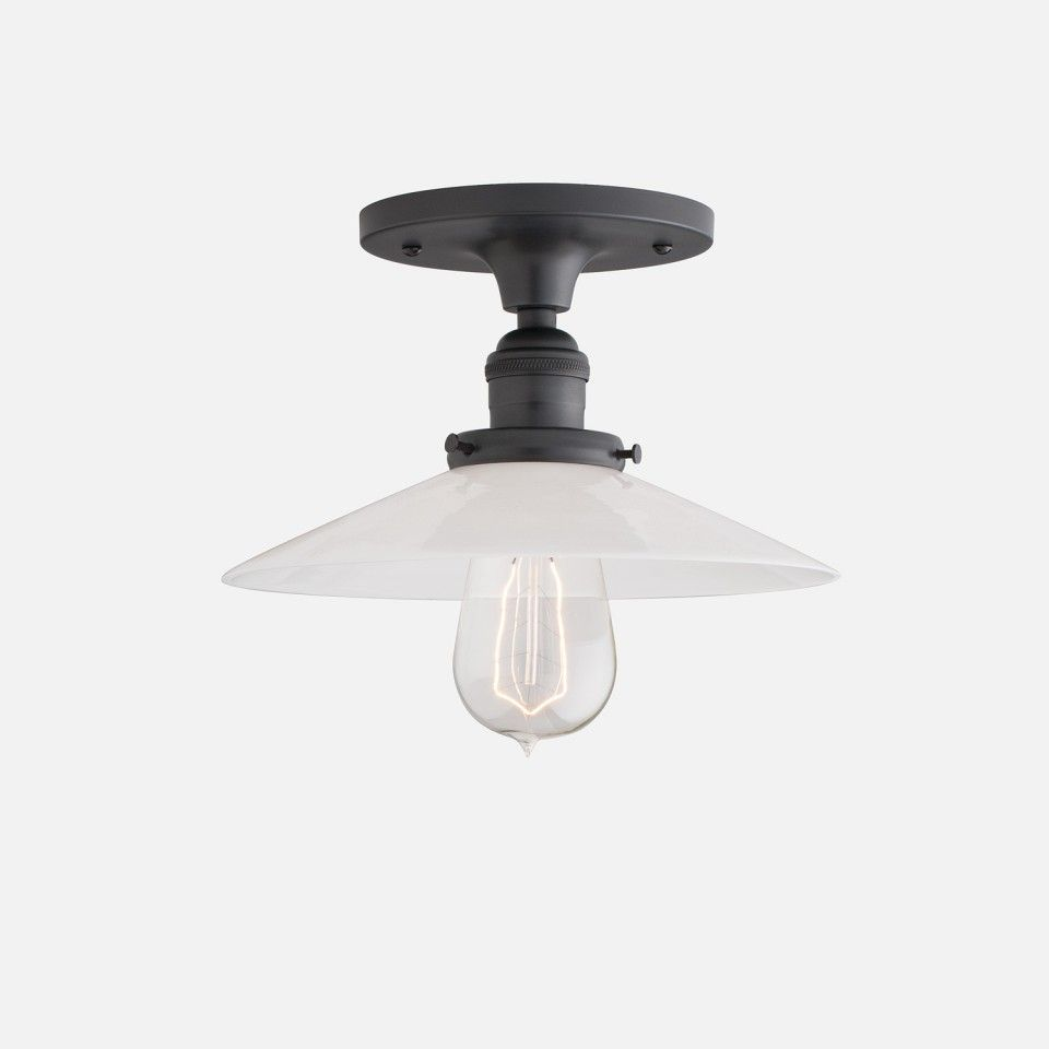 Satellite Schoolhouse Electric Lights And Industrial - Surface mounted kitchen light fixtures