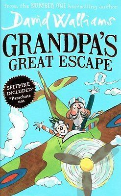 Deluxe Boys Grandpa/'s Great Escape Costume Kids David Walliams Book Week Outfits