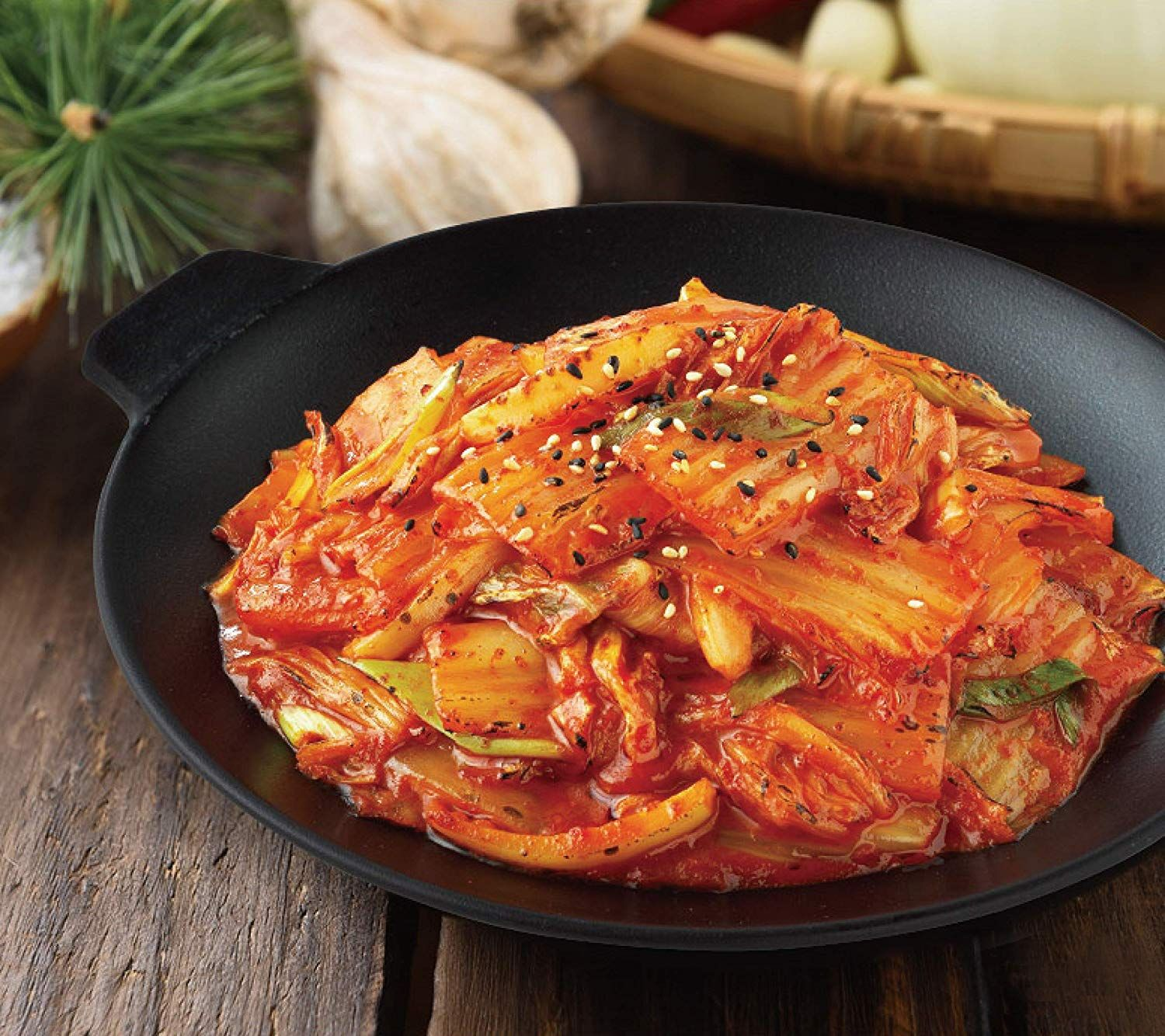 CJ Bibigo, Korean Stir Fried Kimchi in 2020 | Korean side dishes, Fresh  kimchi, Amazing food