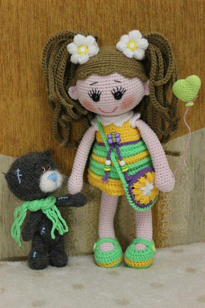 Вязаные чудеса Марины Чучкаловой | VK | Crochet Dolls #3 | Pinterest ...