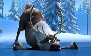 "Who's Your Disney Best Friend? You got: Sven from ""Frozen"" You're generally a down-to-earth, independent type and Sven is there for you in nearly any situation. He has a bad habit of picking at your food, but overall he's the one you can talk to about everything and nothing.~ In the other hand ""Reindeers are better than people""- Sven, don't you think it's true?"