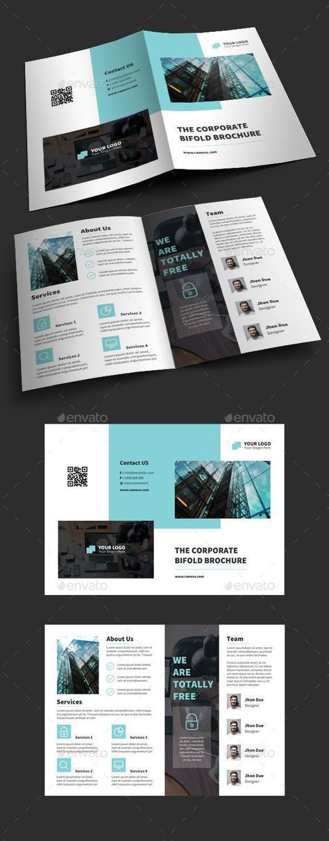 business brochure templates psd free downloada4 size brochure templates ps... - Graphic Templates