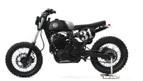 """Anvil Motociclette, Honda Dominator ,""""Bootleg""""_01"""