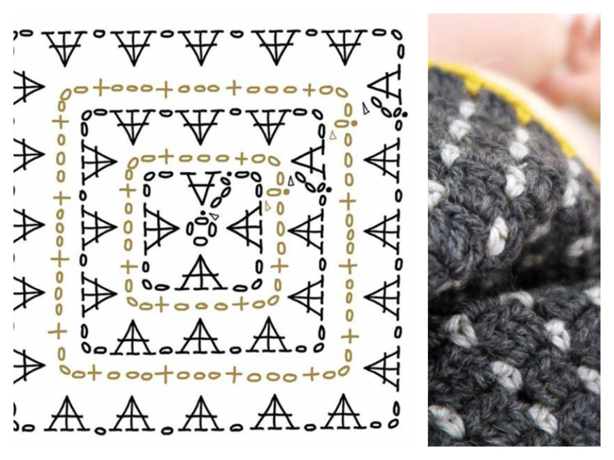 Kleedje haken #vierkant | Haken-crochet | Pinterest