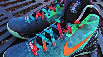 "Nike Hyperdunk 2012 ""Blake Griffin (Galaxy)"" Nero |Blake Griffin Shoes 2012 Galaxy"