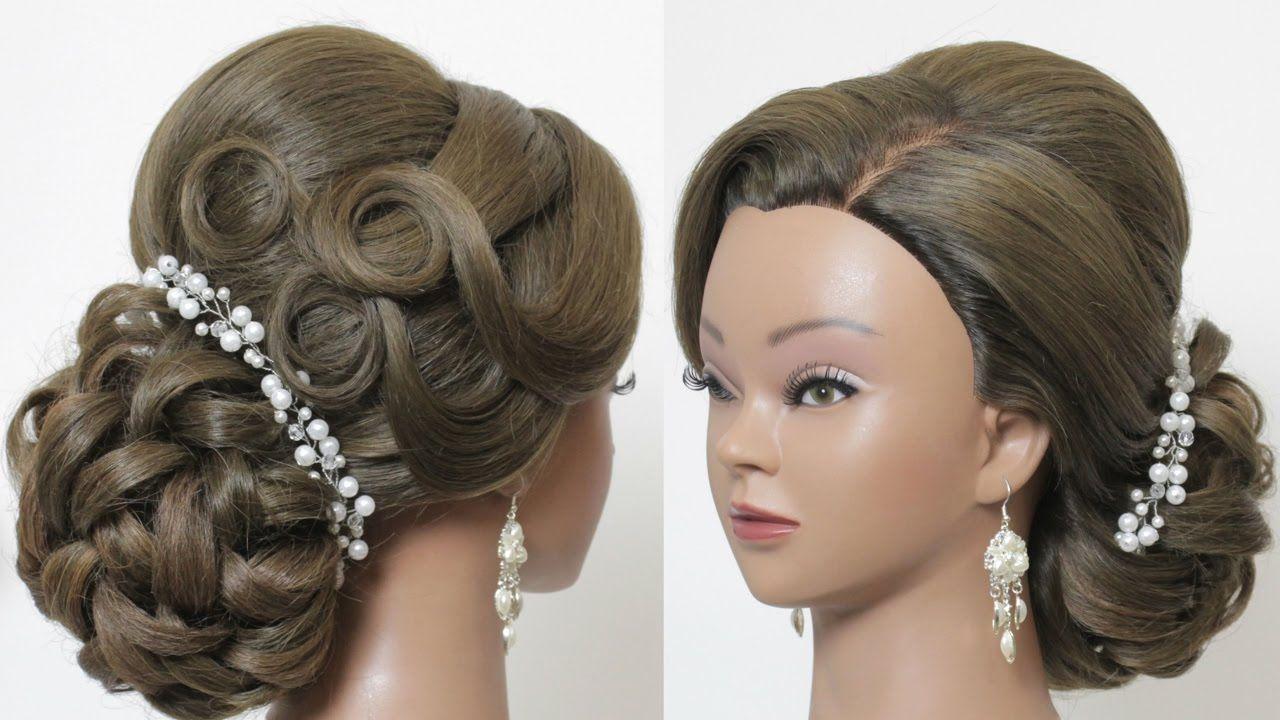 wedding updo. classic bridal hairstyles for long medium hair