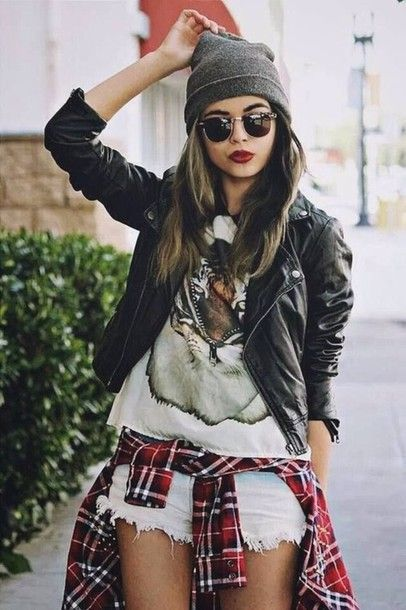 dd6c7f3f9bc30 outfits hipster mujer