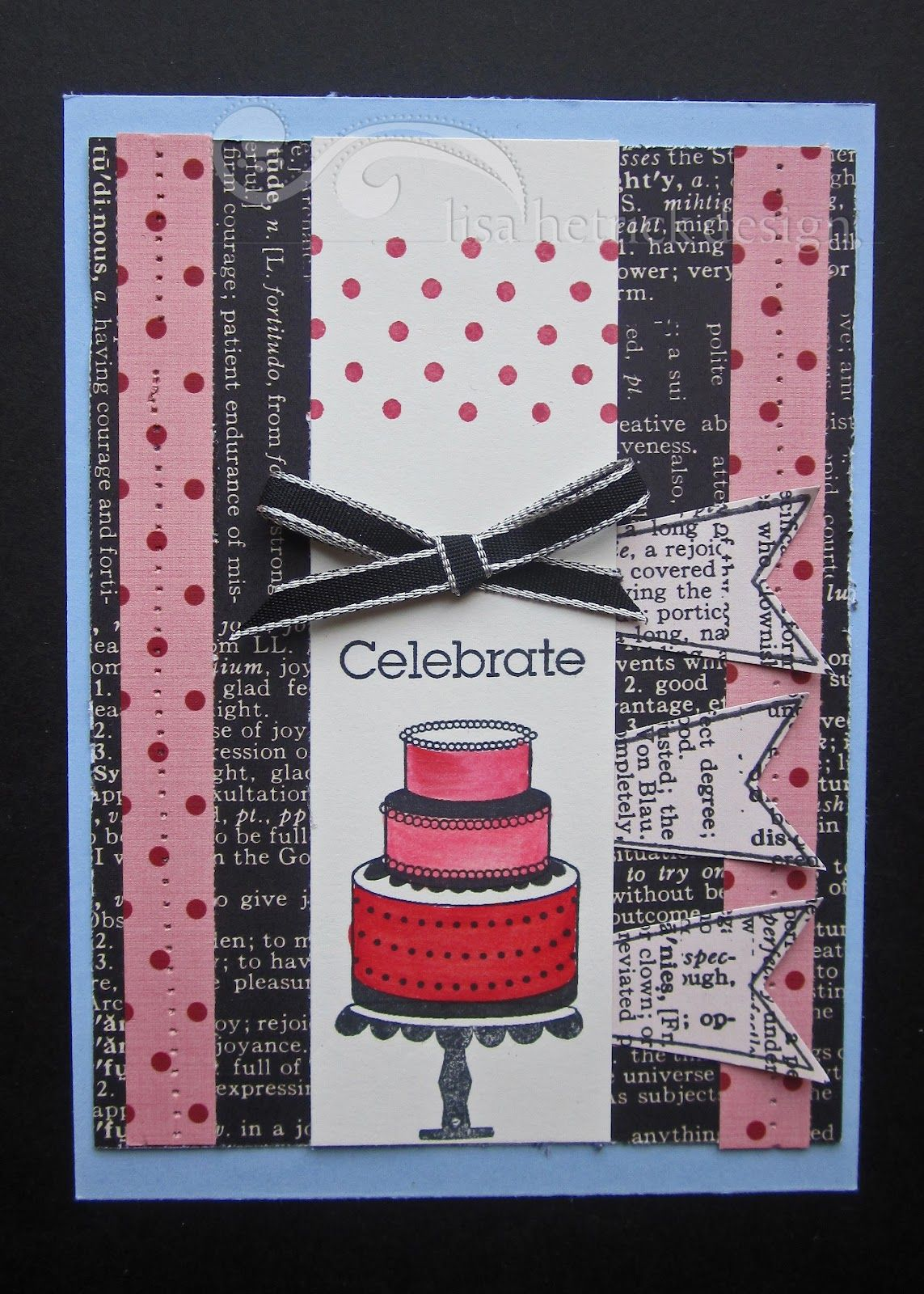 Celebrating in Style with CAKE! How fun is the cake builder element in this set. Perfect for coloring.