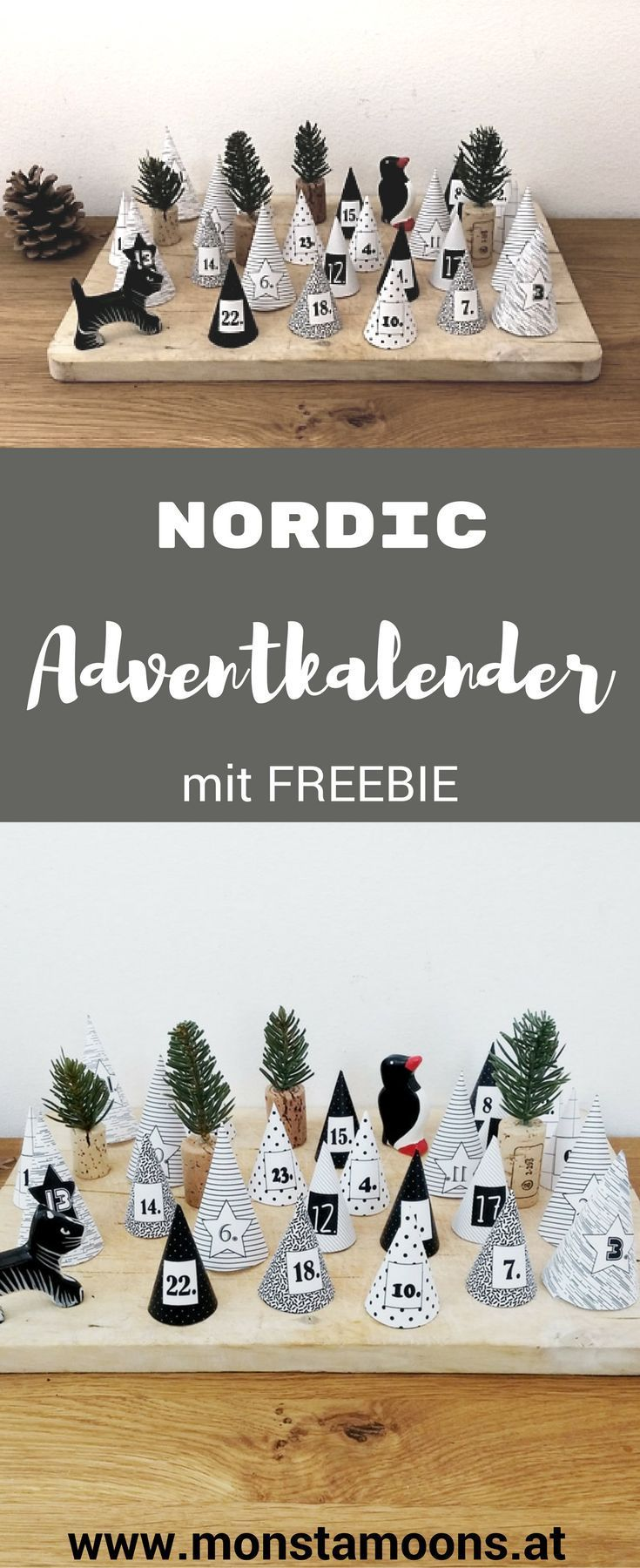 Nordic Adventkalender mit Freebie