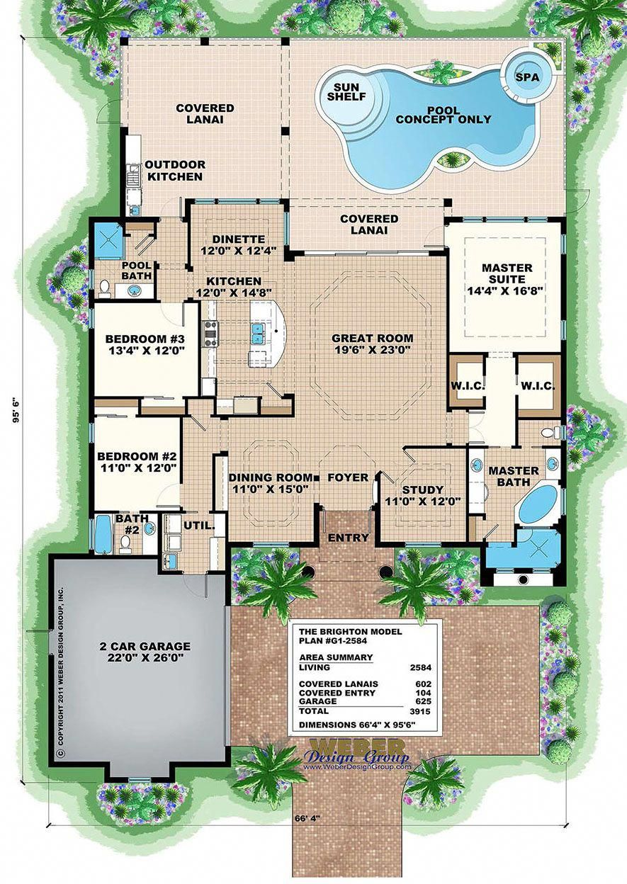 West Indies House Plan Contemporary Island Style Beach Home Plan Mediterranean Homes Brighton Houses House Plans