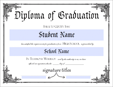 Lucrative image pertaining to free printable diploma template