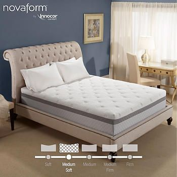 Novaform 12 Valentina Cal King Memory Foam Mattress Queen