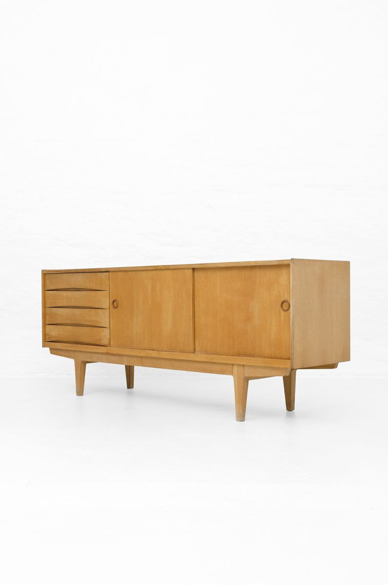 Erik Wørts 'Ulvö' Sideboard in Oak, more sideboards and furniture by Erik Wørts at Studio Schalling