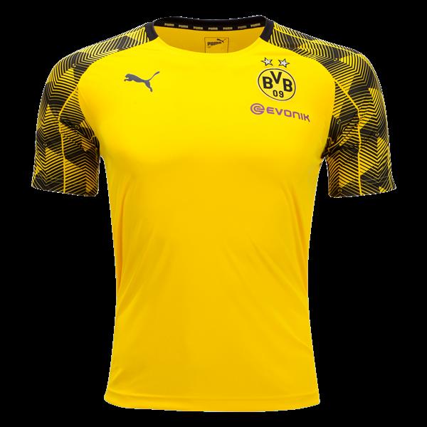 88012f5f3 PUMA Borussia Dortmund 2018 Pre Match Training Jersey - WorldSoccershop.com