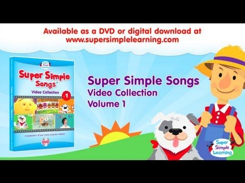 Super Simple Songs Video Collection Vol 1 Preview All 15 Videos On The Dvd It S A Great Educational Tool In The Classroom And At Home