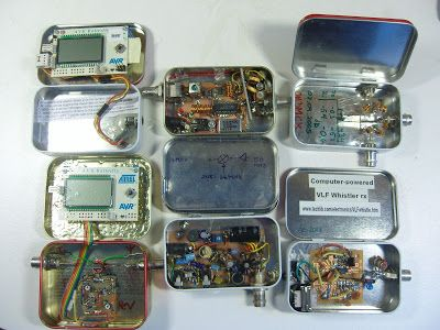 My electronics projects in Altoids tins #1 | Amateur radio ...
