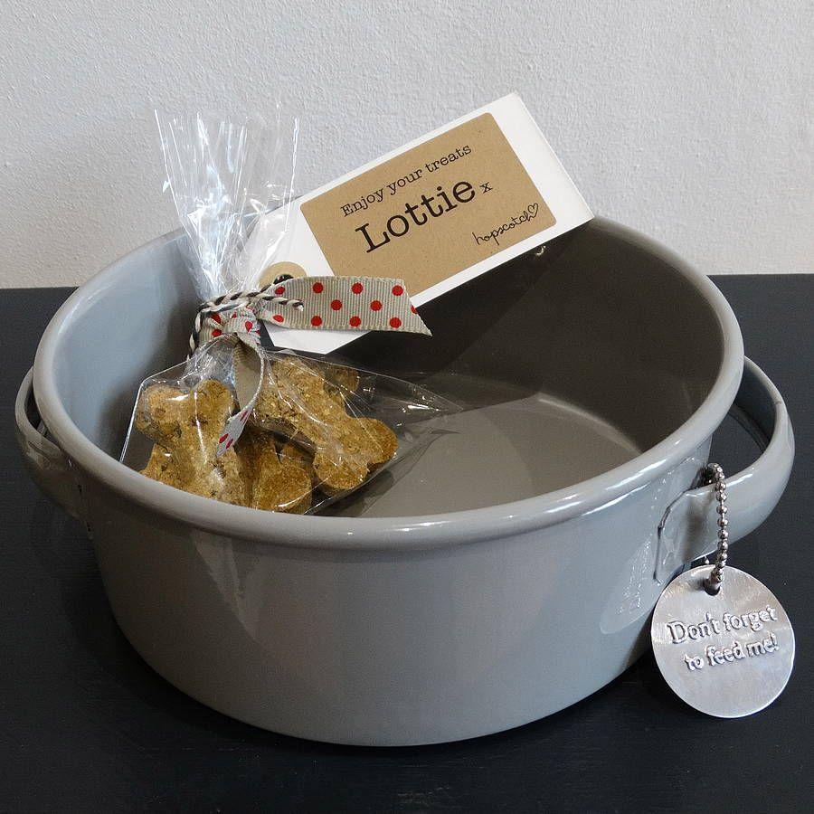 Enamel grey pet bowl pet bowls puppy pads pets