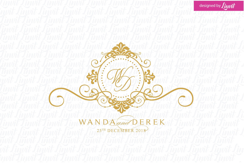 Wedding Logo Wedding Monogram Wedding Monogram Logo Luxury  Etsy