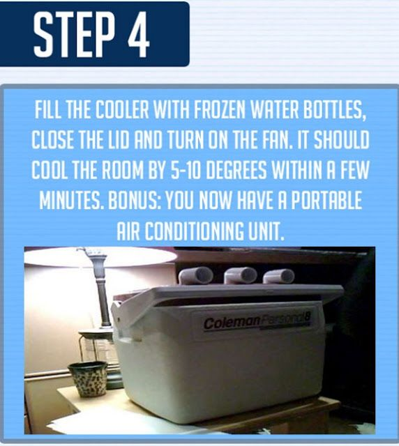 This Diy Air Conditioner Chills A Step By Step Photo Guide On How