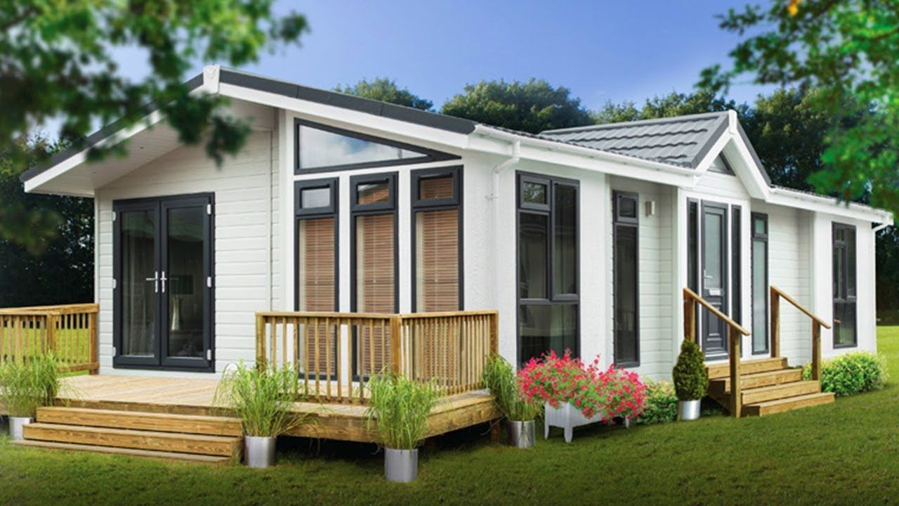 Gorgeous Beautiful Pathfinder Light Park Home With Clever Layout Park Homes Small Tiny House House