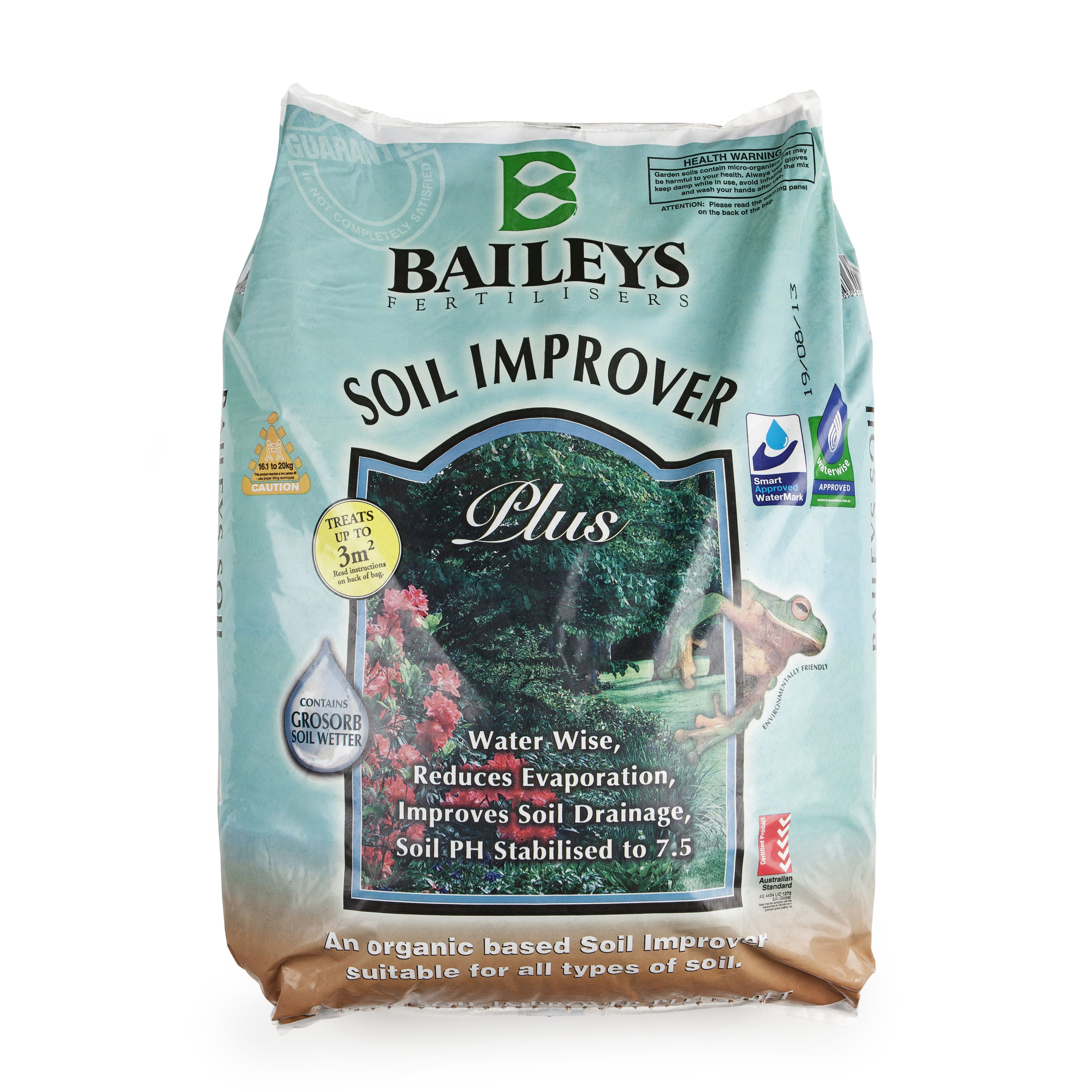 A Natural Organic Compost Suitable For All Garden Situations Baileys Soil Improver Provides A Basic Nutrient Source And Re Soil Improvement Water Wise Wetter