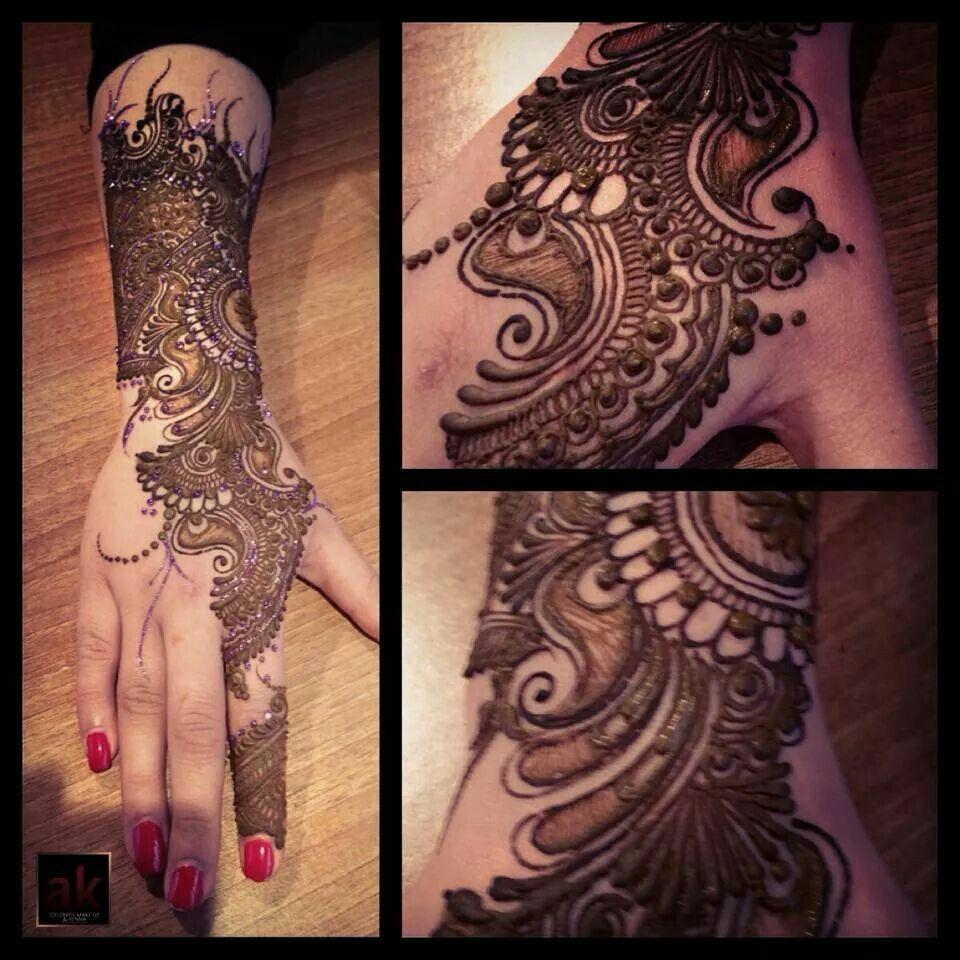Stunning Bridal Henna Designs By Ash: Heena By Ash Kumar