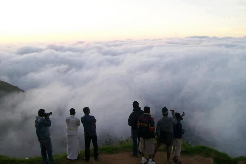 house of clouds ...meghalay in india