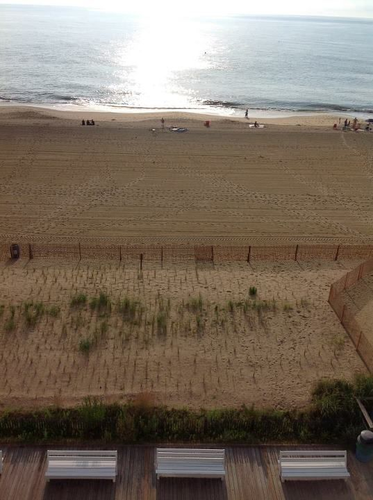 Morning View From The Atlantic Sands Hotel In Rehoboth