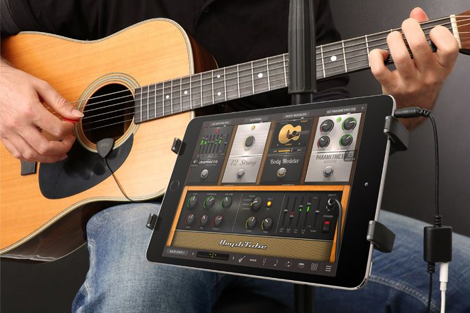 Irig Acoustic The First Acoustic Guitar Mobile Microphone Interface Acoustic Guitar Acoustic Guitar Pickups Guitar