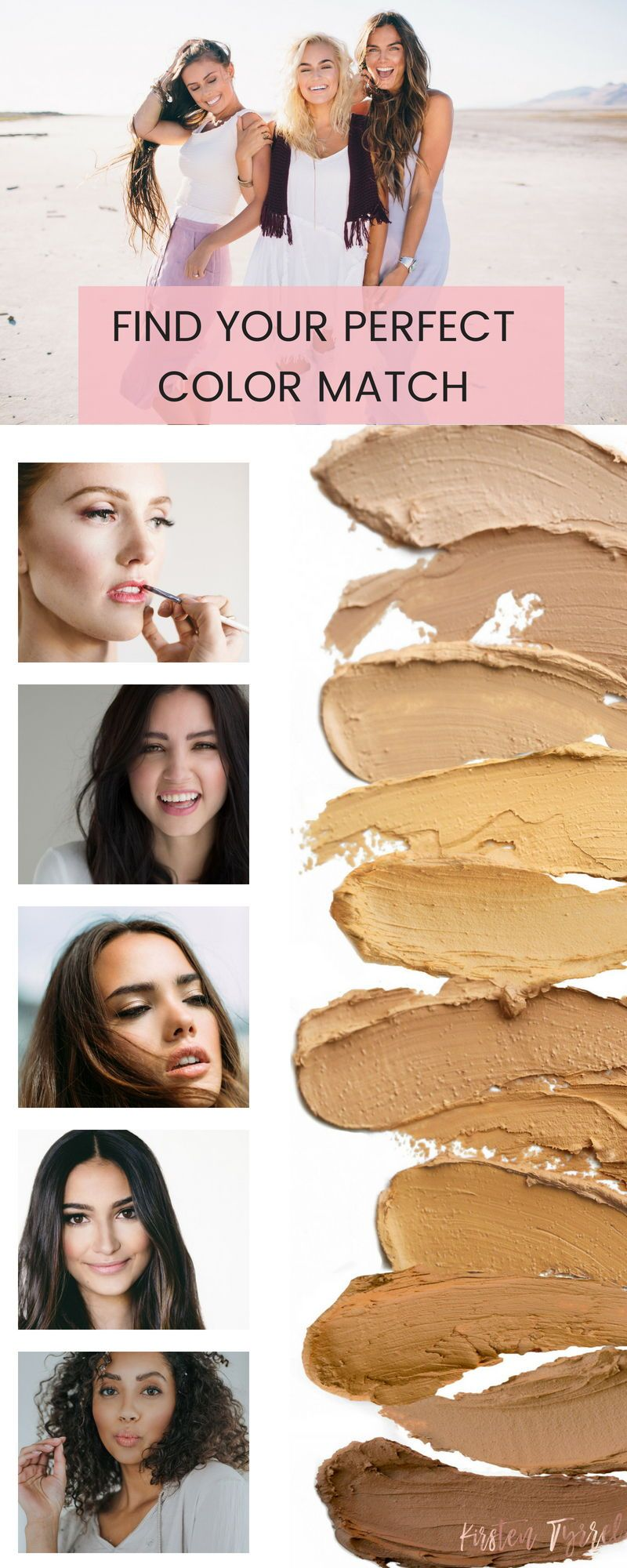 Find your perfect color match IIID Foundation from