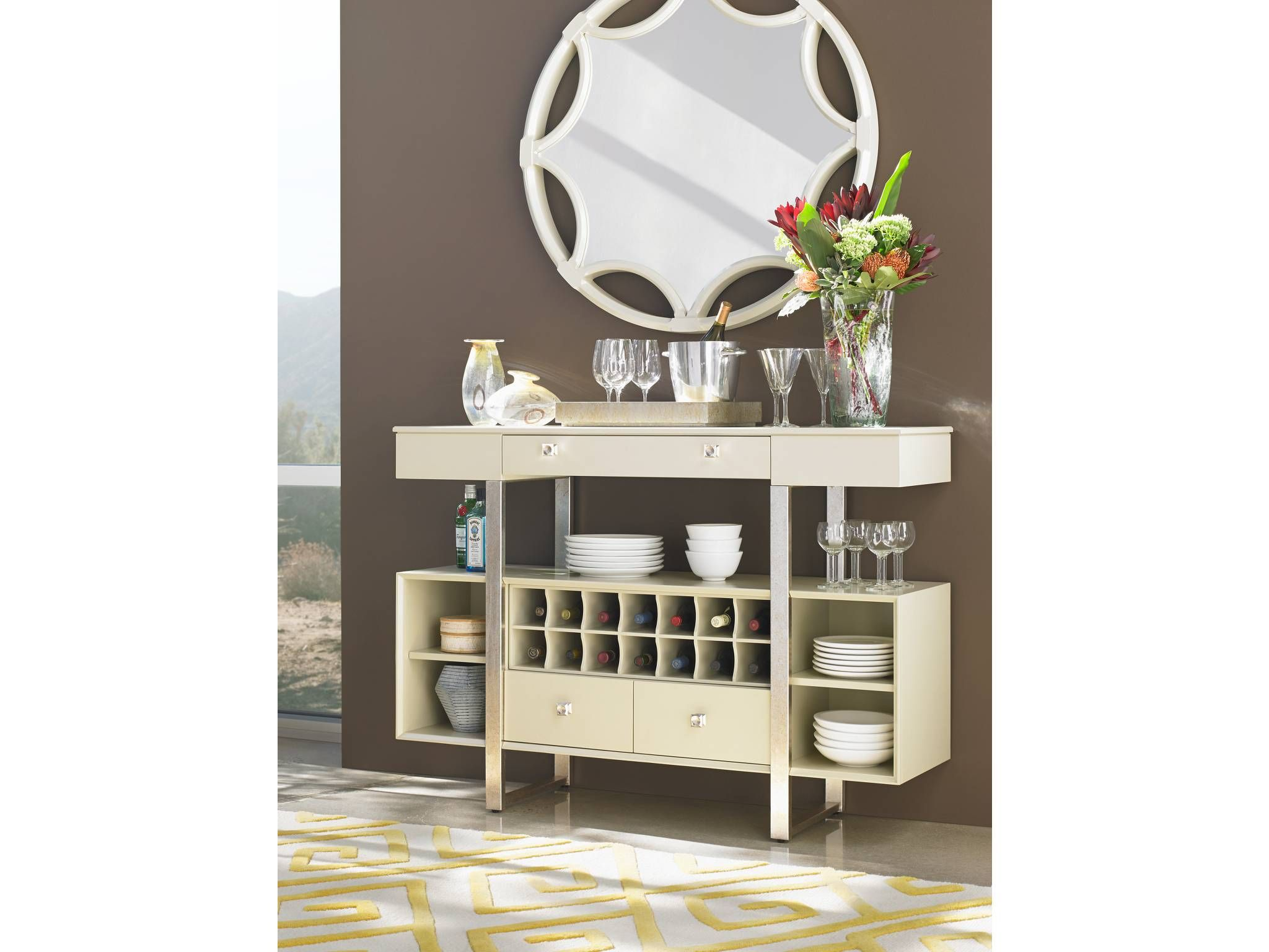 Buffet and sideboard at Avenue Design Canada in Montreal