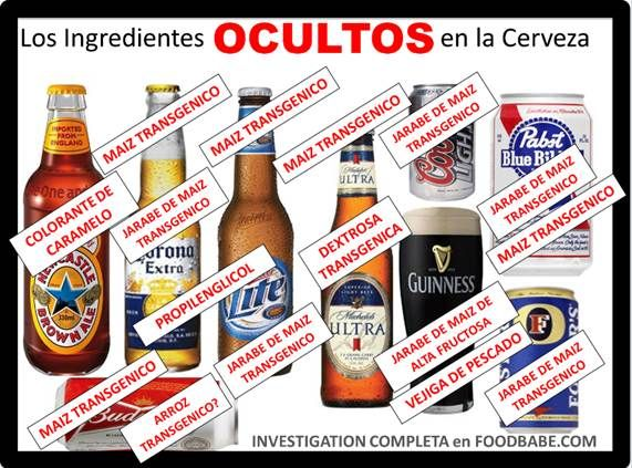 The Shocking Ingredients In Beer Gmos Etc Beer Real Food